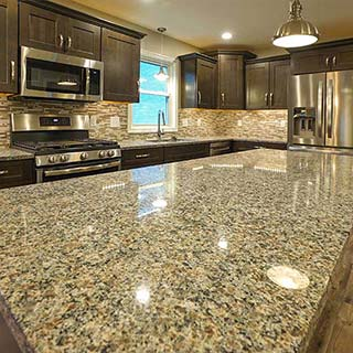Kitchen With Granite in Findlay, OH  - Couchot Homes, Inc.