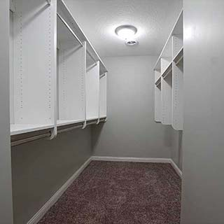 Closet Remodel in Findlay, OH  - Couchot Homes, Inc.