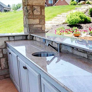 Outdoor Bar Remodel in Findlay, OH  - Couchot Homes, Inc.